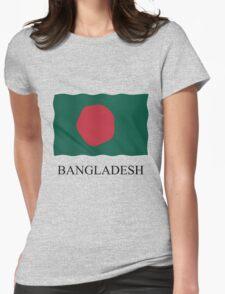 Bangladesh flag Womens Fitted T-Shirt