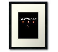 Evil Dead - Boomstick Framed Print