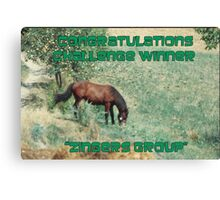 BANNER FOR CHALLENGE Canvas Print