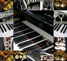 Play the Pretty Notes! Music Collage by BlueMoonRose