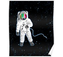 Space Visual Odyssey Poster