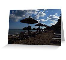 Porto Zorro Beach, Zakynthos Greeting Card