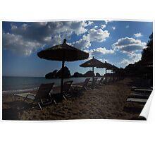 Porto Zorro Beach, Zakynthos Poster