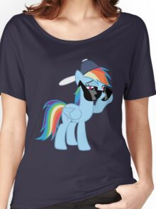 Rainbow Dash Style no text Women's Relaxed Fit T-Shirt