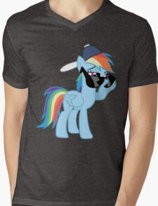 Rainbow Dash Style no text Mens V-Neck T-Shirt