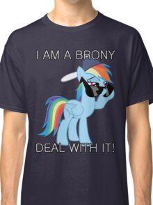 Rainbow Dash Brony Classic T-Shirt