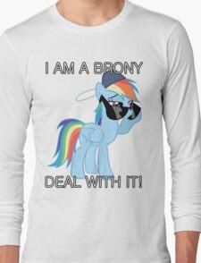 Rainbow Dash Brony Long Sleeve T-Shirt