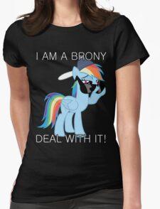 Rainbow Dash Brony Womens Fitted T-Shirt