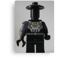 Custom Cyber Droid Shadow Soldier Minifig Canvas Print