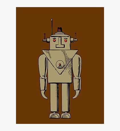 Vintage Robot by Chillee Wilson Photographic Print