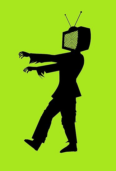 Zombie TV Guy by Chillee Wilson by ChilleeWilson