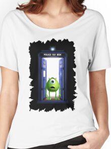 Tardis Monster inc Women's Relaxed Fit T-Shirt