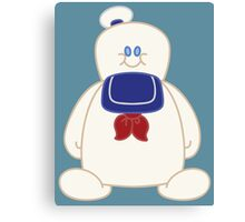 Stay Puft Chibi Canvas Print