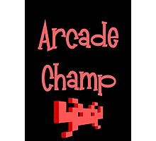Arcade Champ by Chillee Wilson Photographic Print