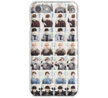 BTS/Bangtan Sonyeondan - Checkered Photos iPhone Case/Skin