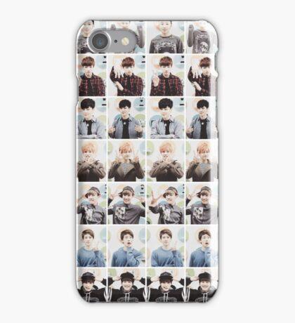 BTS/Bangtan Sonyeondan - Checkered Photos iPhone Case/Skin