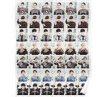 BTS/Bangtan Sonyeondan - Checkered Photos Poster