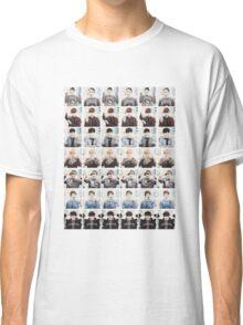BTS/Bangtan Sonyeondan - Checkered Photos Classic T-Shirt