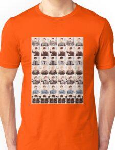 BTS/Bangtan Sonyeondan - Checkered Photos Unisex T-Shirt