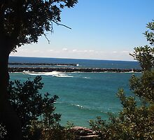 Shoal Bay, Yamba, NSW, Australia by Margaret Morgan (Watkins)