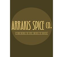 Dune - Arrakis Spice co. (version 2) Photographic Print