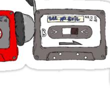 No Evil Cassettes Sticker