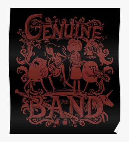 Genuine Band Poster