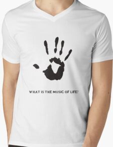 Dark Brotherhood: What is the music of life? Mens V-Neck T-Shirt