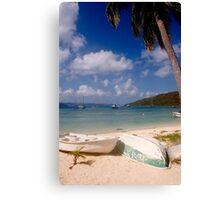Caribbean Scene Canvas Print