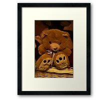 Teddy Waits For A New Owner Framed Print