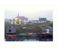 Peggys Cove #4 Art Print