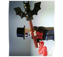 Voodoo Priest / Witch Doctor Zombie Custom Minifigure Poster