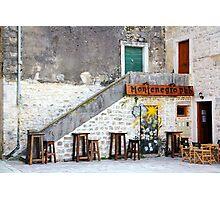 Montenegro Pub Photographic Print