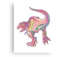 Rainbow Rex Canvas Print