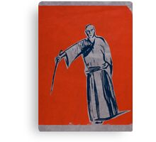 Iaido orange Canvas Print