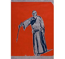 Iaido orange Photographic Print