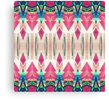 Pointed Mirror Abstract Canvas Print
