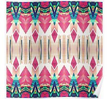 Pointed Mirror Abstract Poster