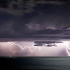Lightning over Mindarie by Paul Pichugin