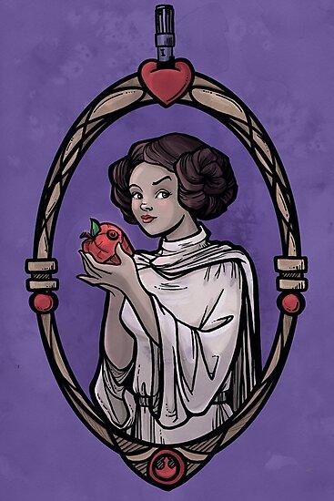 Snow Organa and the Poisoned Death Star by Karen  Hallion