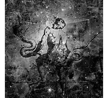 When The Stars Are Right - The Eagle Nebula in Serpens (black & white version) Photographic Print