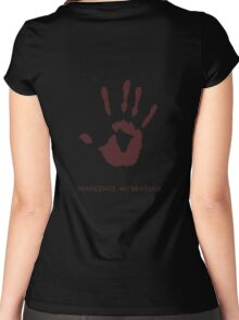 Dark Brotherhood: Innocence, my brother Women's Fitted Scoop T-Shirt