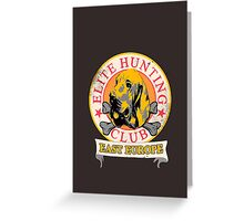 Elite Hunting Club (EHC) Greeting Card