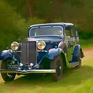 1935 Sunbeam - Topaz by David J Knight