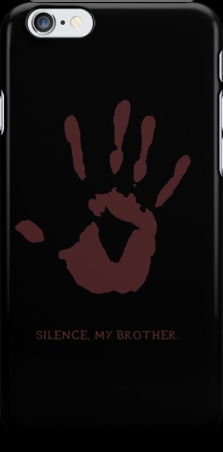 Dark Brotherhood: Silence, my brother by Genus Bombus