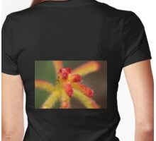 Macro of a Catspaw Womens Fitted T-Shirt