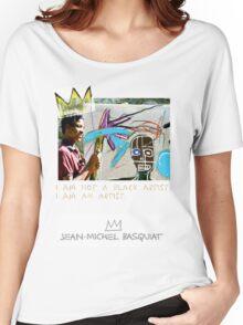 I am not a black artist Women's Relaxed Fit T-Shirt