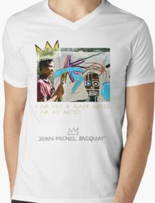 I am not a black artist Mens V-Neck T-Shirt