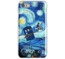 Tardis Flying Starry Night iPhone Case/Skin