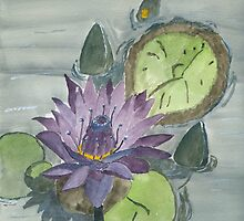 Water Lily by Eva  Ason
